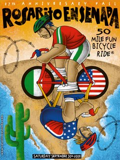 rosarito to ensenada bike poster