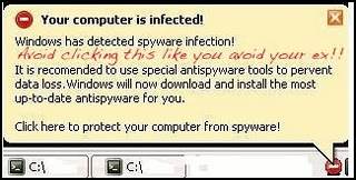 your computer is infected