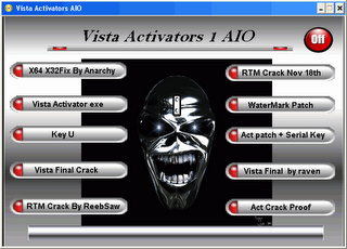 Windows Vista Activators