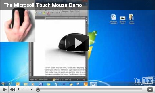 multi touch video demo