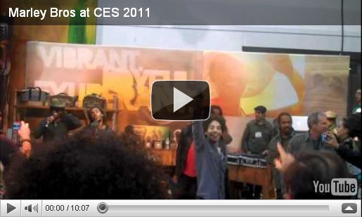 Marley Bros at CES